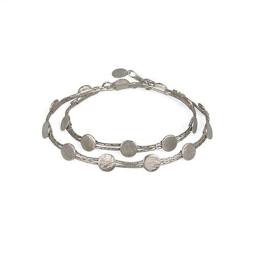 Cara Tonkin Pailette Wrap Bracelet & Choker
