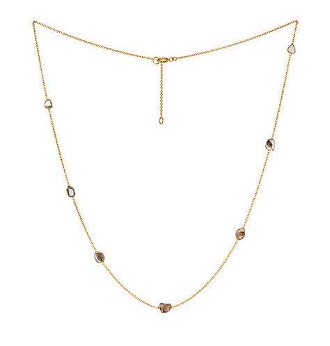 REI Small Diamond Slice Necklace