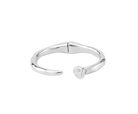 UNOde50 Nail bracelet Silver