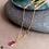 Thumbnail: REI Sapphire and Diamond Slice Necklace
