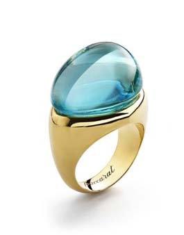 Baccarat Gold Vermeil Galea Ring