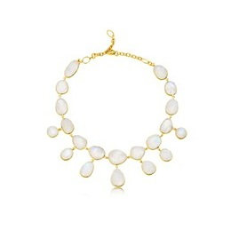 AUREN Statement Moonstone Necklace
