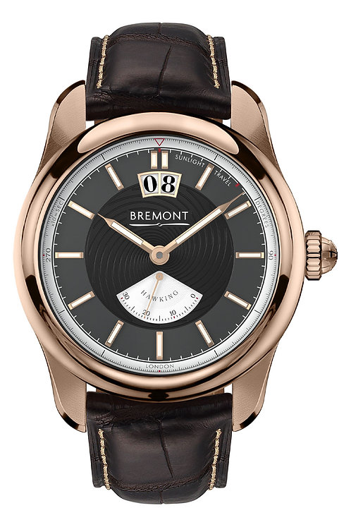 Bremont Hawking Rose Gold Watch Face