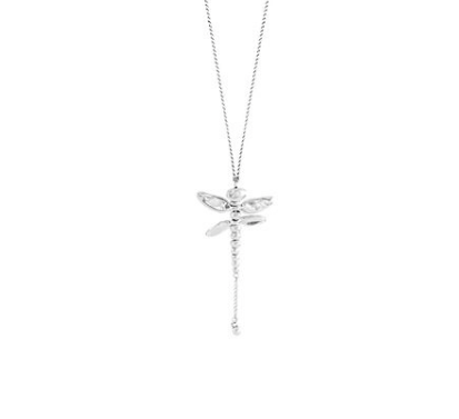 UNOde50 Long Dragonfly Necklace