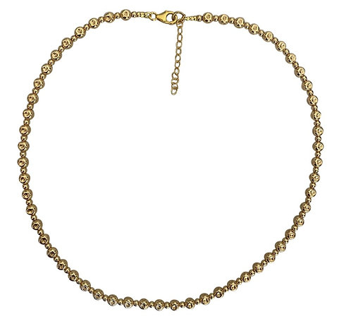 Yaron Morhaim Rolled Gold Sphere Necklace