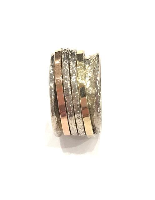 Yaron Morhaim Spinner Multi Colour Ring