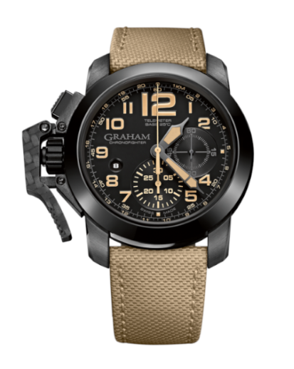 Graham Chronofighter Steel Black