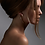 Thumbnail: Shaun Leane Rose Gold Vermeil Large Hook Earrings
