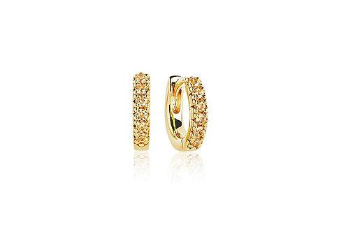 Earrings Ellera Piccolo Yellow Zirconia