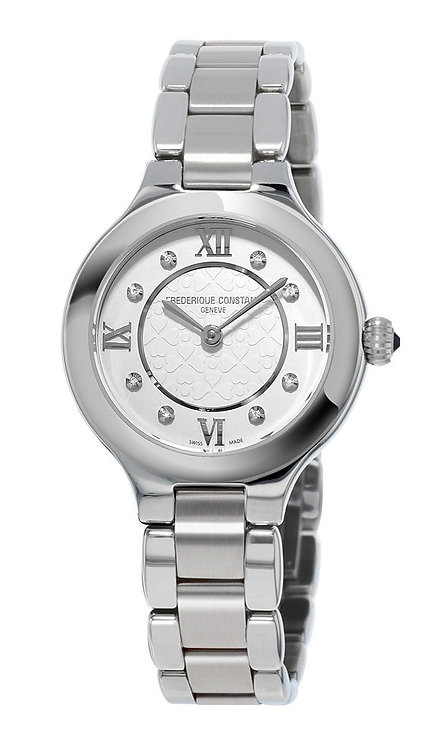 Frederique Constant Classics Delight Stainless Steel Ladies Watch