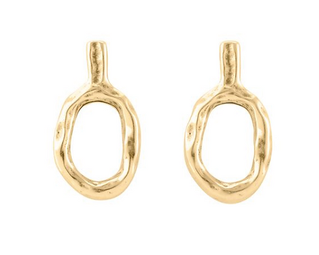 UNOde50 Sheet Earrings