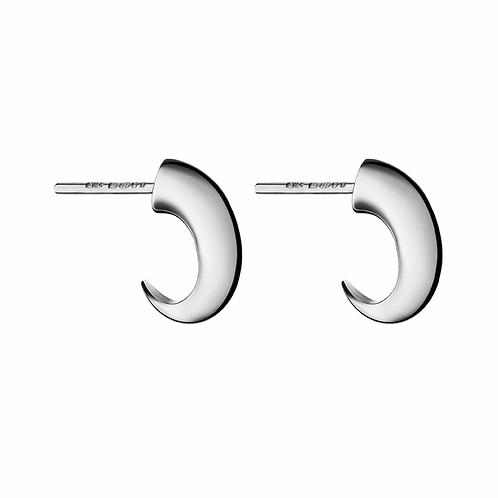 Shaun Leane Silver Cat Claw Hoop Earring