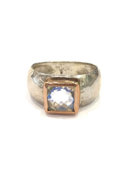 Yaron Morhaim Rainbow Quartz Ring
