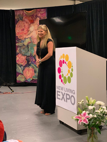 Presenting at the New Living Expo
