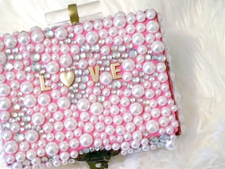 How to Make a Beaded Clutch from a Box