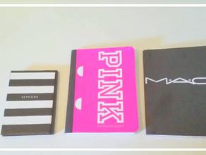 DIY Notebooks using Shopping Bags