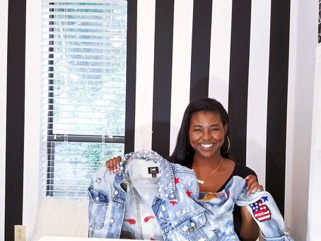 DIY 4TH of July Fashionable Denim Jacket That You Need in Your Closet