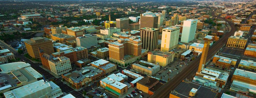 downtown-spokane-wa-rooftops-summer-1920