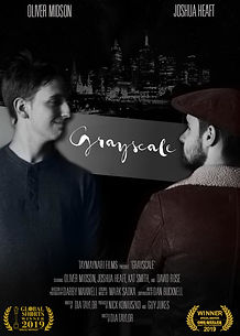 Grayscale Film Poster