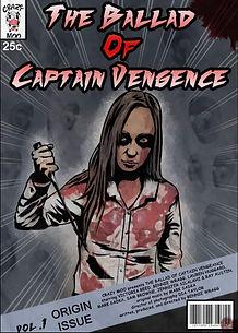 The ballad of Captain Vengeance film poster
