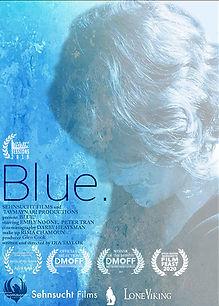 Blue. Film Poster