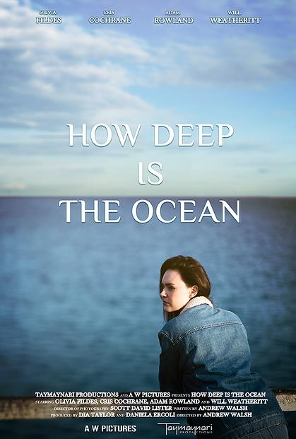 How deep is the ocean poster