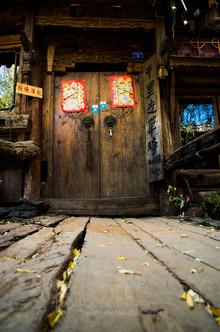 dans la vieille ville de lijiang nov 201