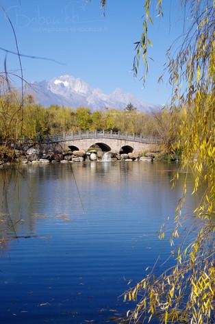 lac du dragon noir Lijiang chine nov 201