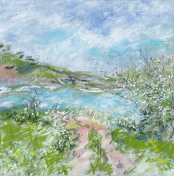 Cornwall Pastel I