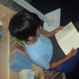 Visits to the Library & reading for pleasure