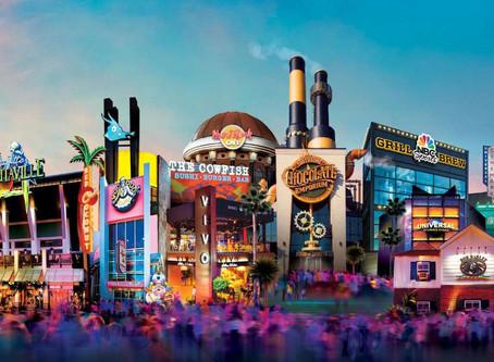 Universal City Walk... El corazón del entretenimiento.