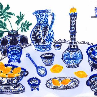 Dinner in Persepolis