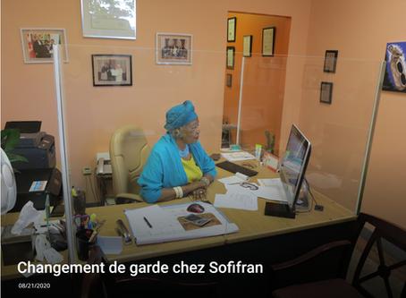 Changement de garde chez SOFIFRAN