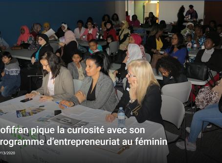 Sofifran pique la curiosité avec son programme d'entrepreneuriat au féminin