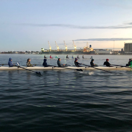 Novice Masters training through the winter