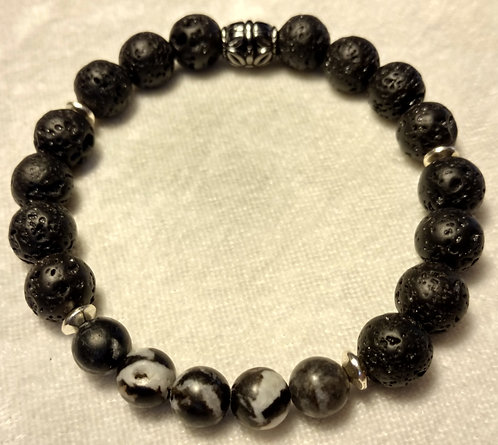 Black & White Jasper Unscented