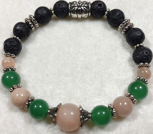 Green Jade & Aventurine Unscented