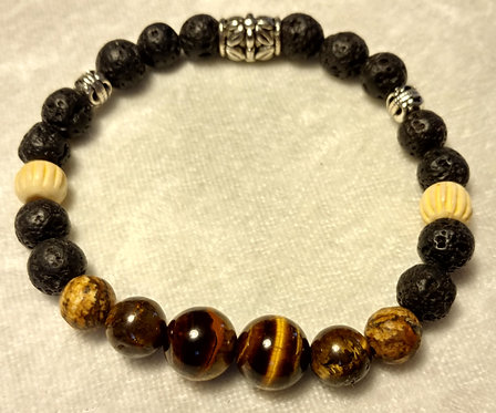 Tiger Eye & Picture Jasper Unscented
