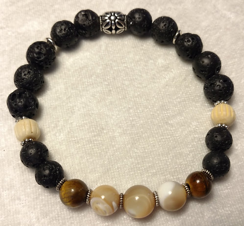 Marbled Agate & Tiger Eye Unscented