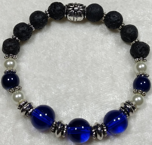 Dark Blue Chalcedony Unscented