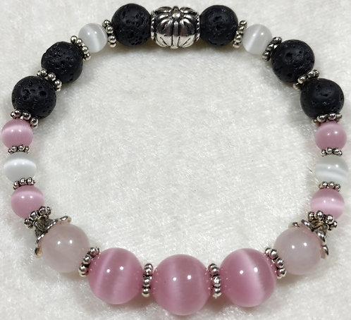 Pink Banded Agate Scented