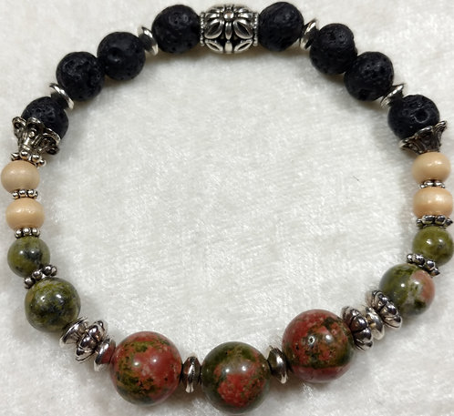 Unikite Jasper & Wood Unscented