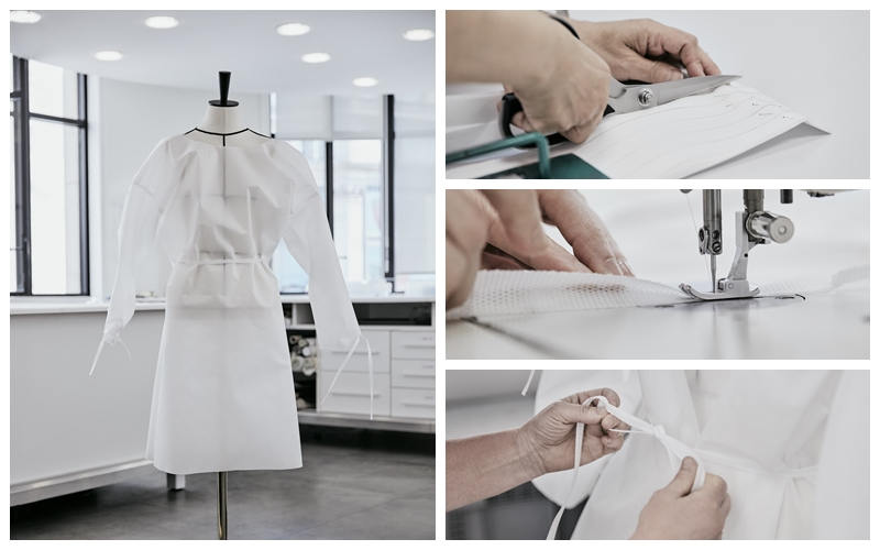 路易威登動員巴黎服裝工坊 為巴黎醫院製作防護衣