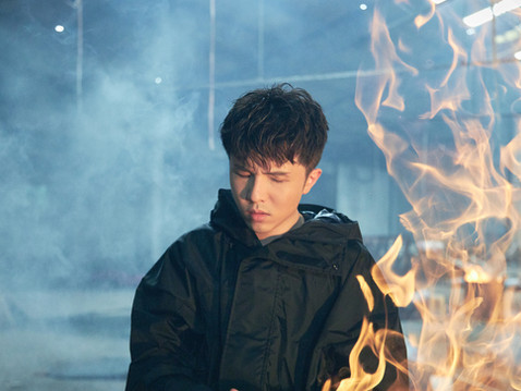小宇-宋念宇廢墟中「被火圍繞」現場缺氧 全新單曲〈臉〉描繪地球受傷的臉