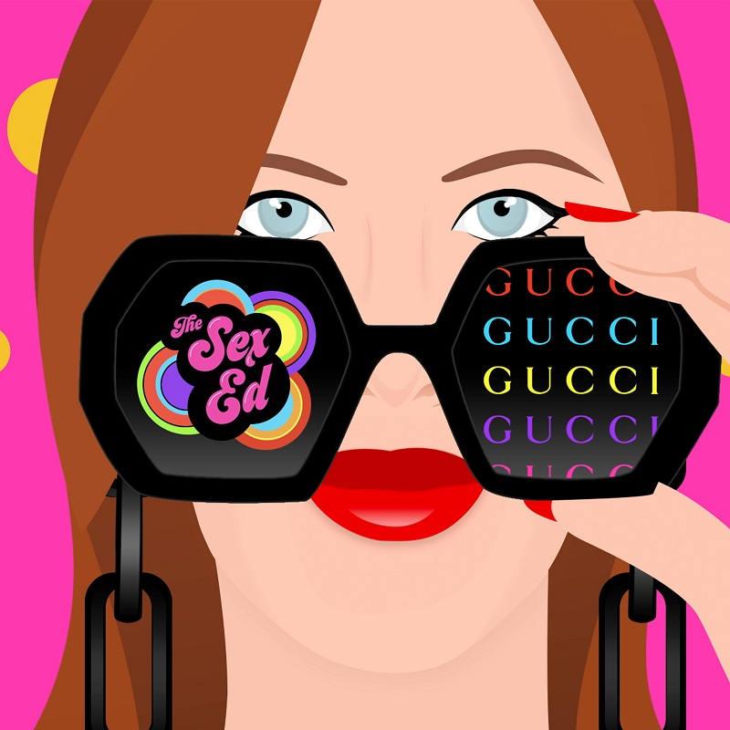 Gucci與The Sex Ed 宣佈合作The Sex Ed Podcast 系列