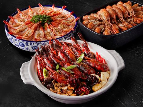 超級「蝦」吃到飽!「蝦饗宴」主題  挑戰海鮮控們痛風指數!