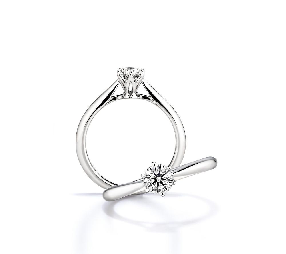 【商品圖】GINZA DIAMOND SHIRAISHI銀座白石 Saint.galre訂婚鑽戒.jpg
