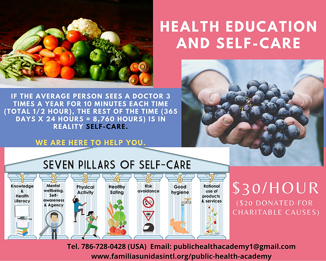 Health Education and Self Care -- 11-7-2