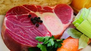 Rosół i wołowina gotowana