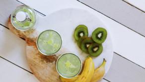 Surówka z banana i kiwi